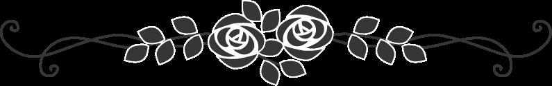 薔薇のライン